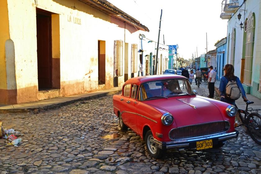 Car in Trinidad, Cuba