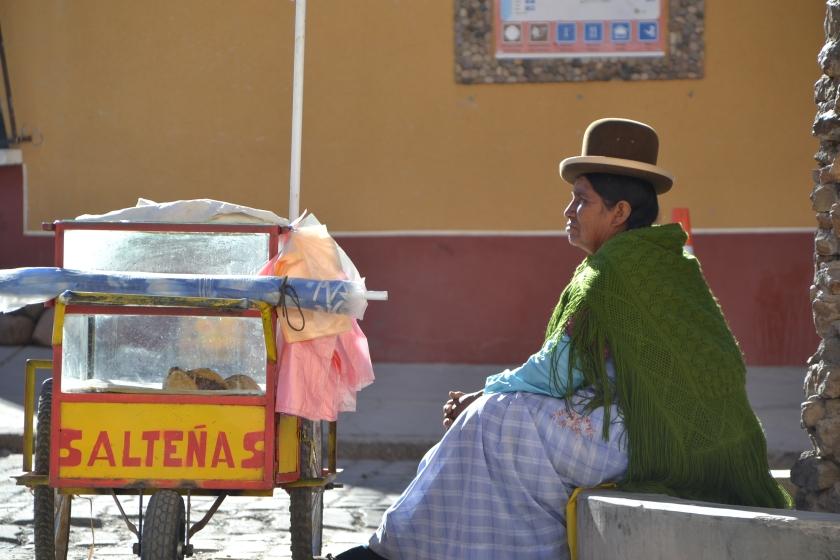 Cholita Bolivia