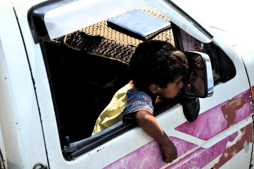 Jongen in Jordanie