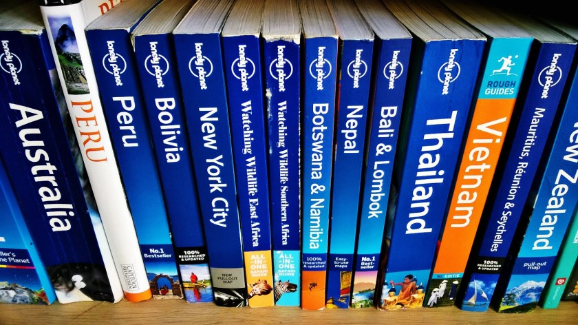 Reisboeken Lonely Planet Rough Guide Capitool