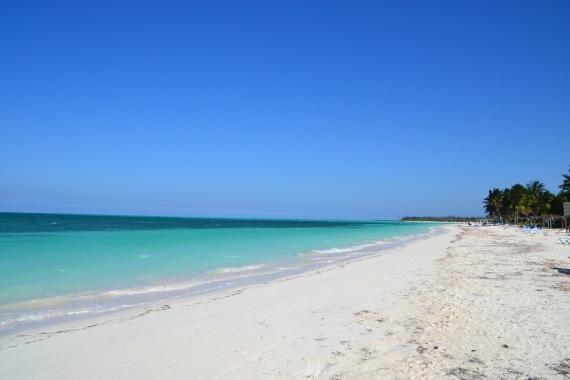 Strand van Cayo Levisa