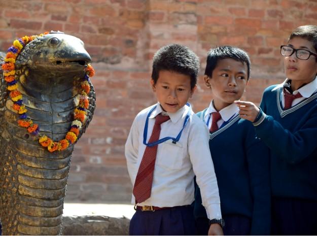 Bhaktapur kids