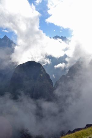 Around machu picchu Peru