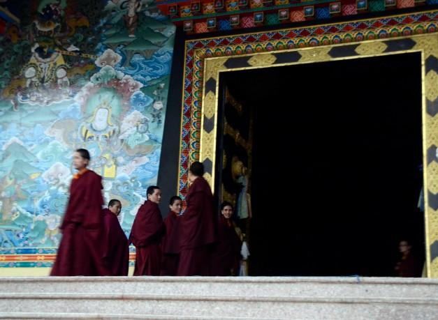 Tempel Nepal boeddhisme reisblog