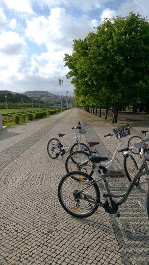 fietsen lissabon
