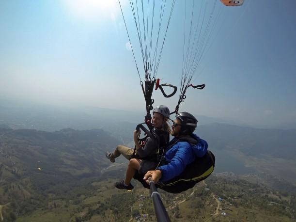 Paragliden Nepal Pokhara