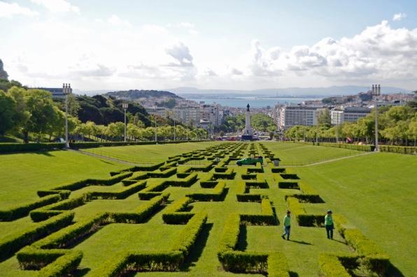 Park Eduardo Lissabon