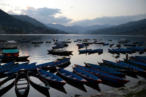 Pokhara meer blog