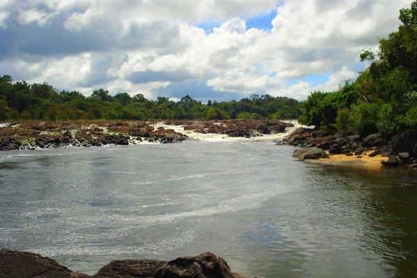 Raleighvallen Suriname reisblog