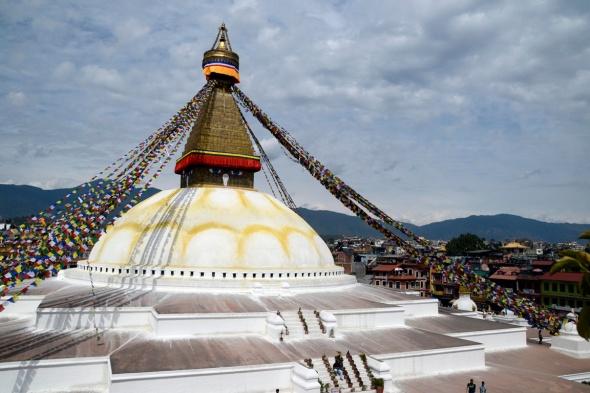 Stupa Bodhnath Nepal blog