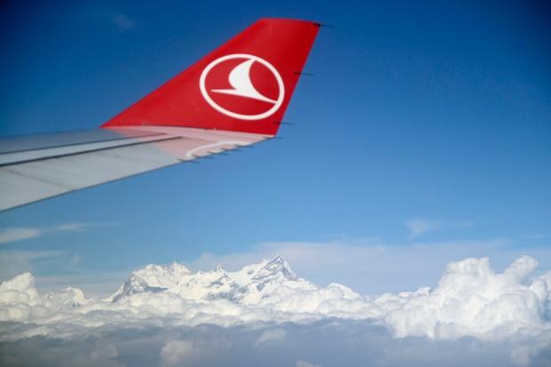 Vliegtuig Nepal Turkish Airlines