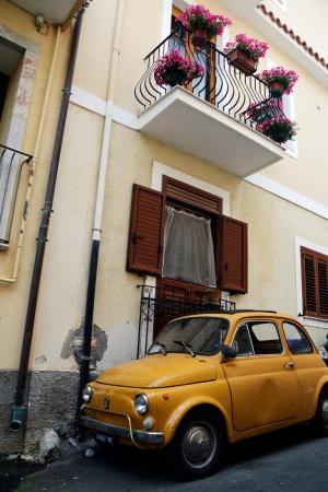 Fiat in Taormina