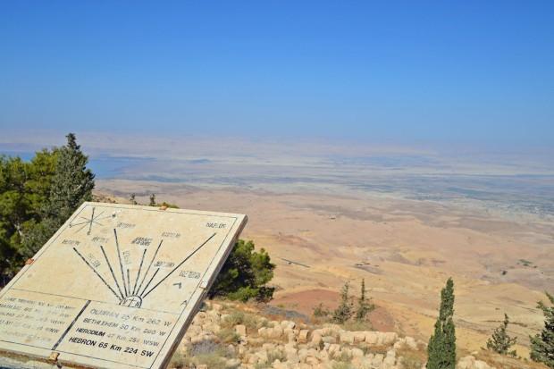 Mount Nebo Jordani