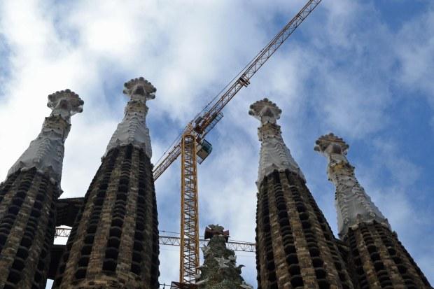 Sagrada Familia reisblog Barcelona