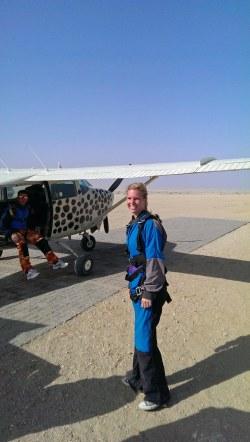 Skydive Swakopmund namibia