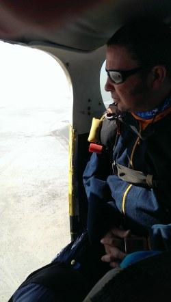 Skydive instructeur en uitzicht blog bucketlist Namibie