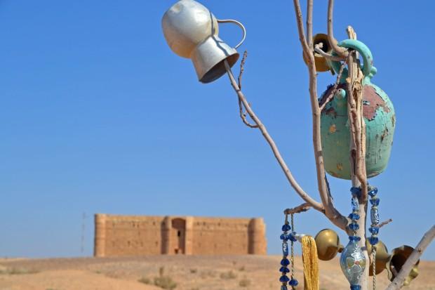 tip woestijnkasteel Jordanie
