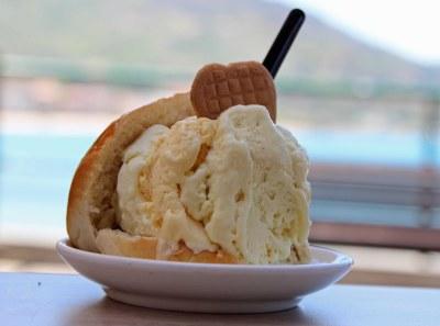 Broiche con gelato italy food blog