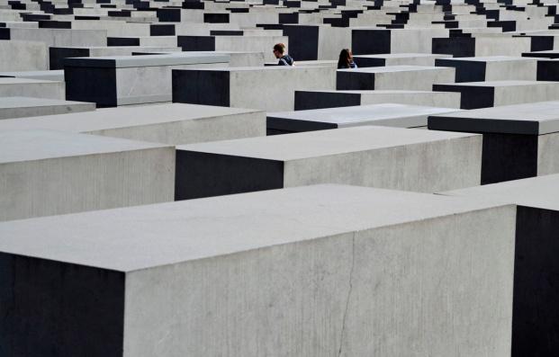 Gedenkmal ermordetet Juden EUropa berlin blog
