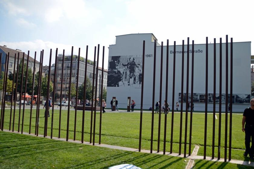Muur Bernauerstrasse Berlijn