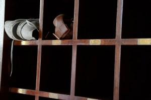 schoenen uit in de moskee oman reisblog