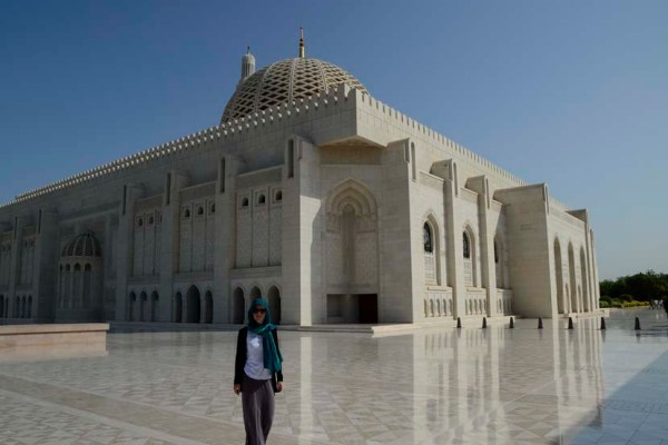 Moskee muscat oman