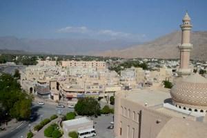 Uitzicht over Nizwa, Oman
