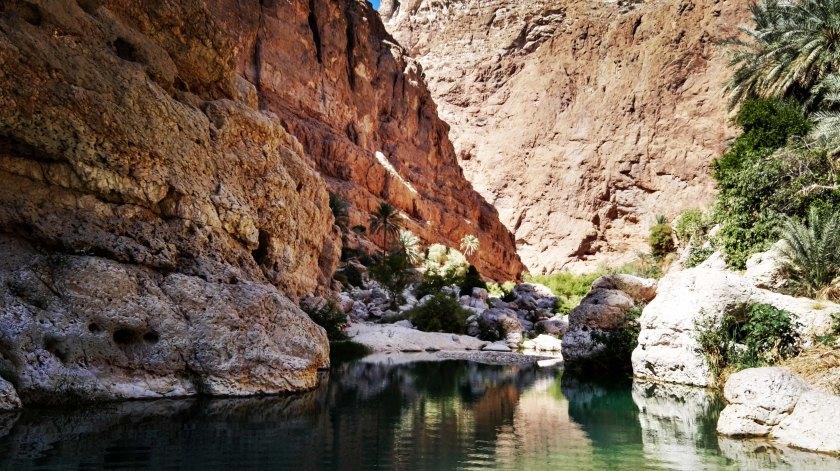 wadi sha oase oman