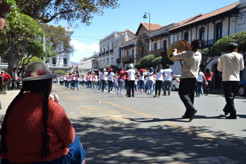 Festival Sucre Bolivia