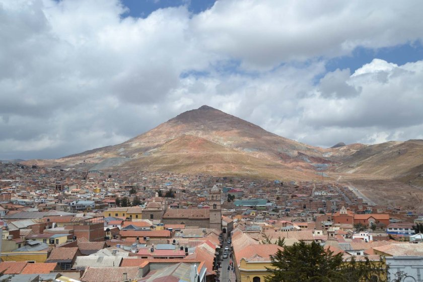 Potosi zilverberg Bolivia