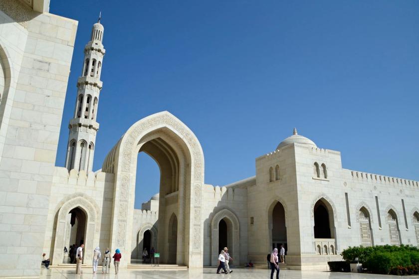 Sultan Qaboos moskee in Oman
