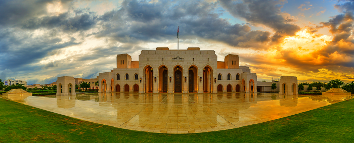 Royal opera house in muscat Oman