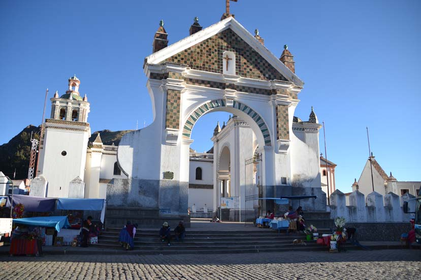 Copacabana Bolivia kerk