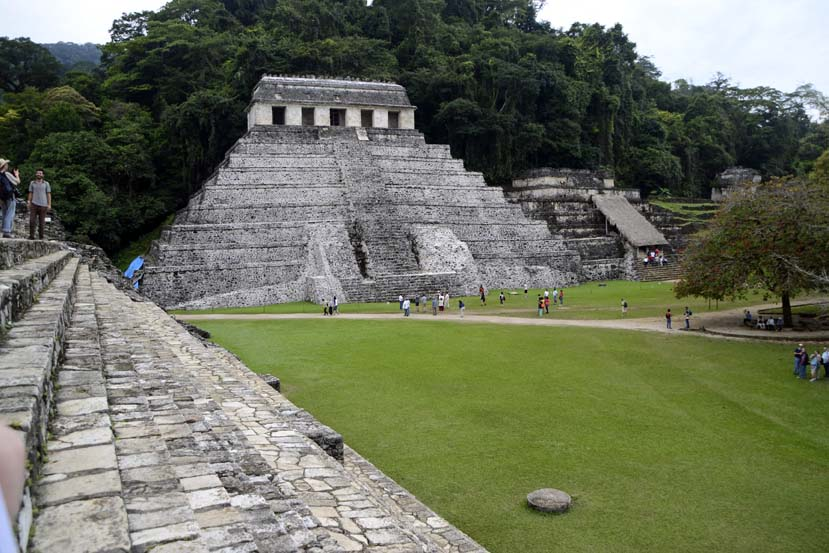 Mayastad Palenque in MExico