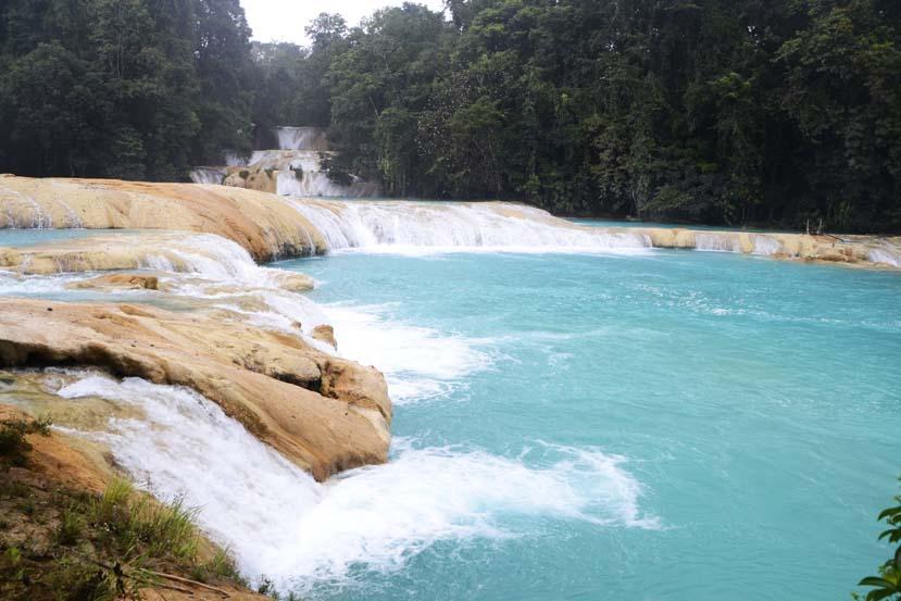 Watervallen van Agua Azul, Palenque Mexico