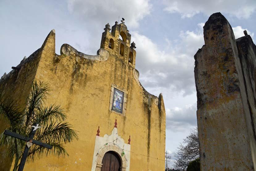 Oude kerken in Merida, Mexico Yucatan
