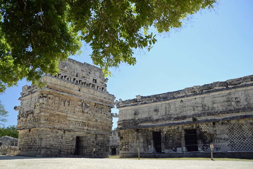 Andere ruines Chichen Itza wereldwonder Mexico Yucatan