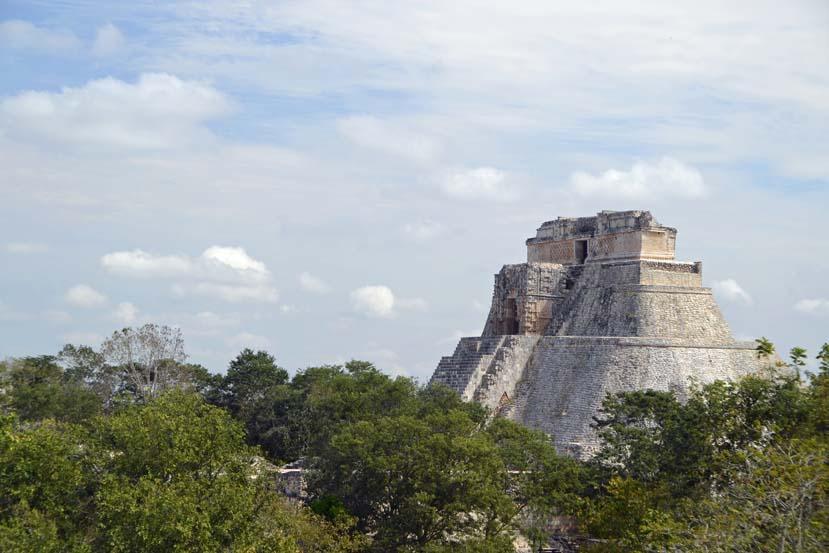 Ten zuiden van Merida vind je de Uxmal ruine Mexico Yucatan