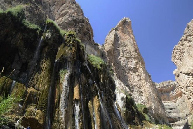 Margoon watervallen in Iran