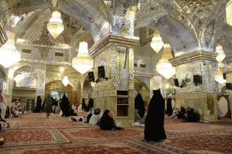 vrouwengedeelte shrine in Shiraz Iran