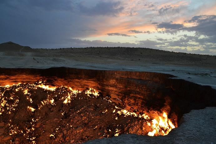 Gaskrater van Turkmenistan highlight darwaza
