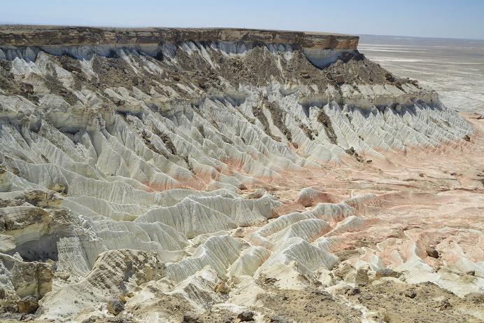 Yangykala canyon in west Turkmenistan travelblog