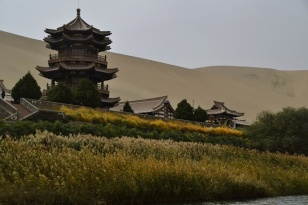 crescent-moon-lake-dunhuang-china-close-up