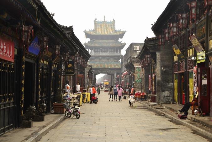 pingyao-hoofdstraat-china