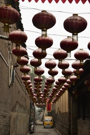 pingyao-rode-lampionnen-china